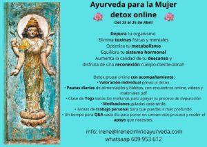 detox ayurveda masaje ayurveda consulta ayurveda retiro espiritual